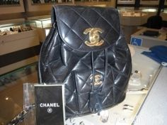 Vintage Chanel Back Pack -  YES PLEASE !!!