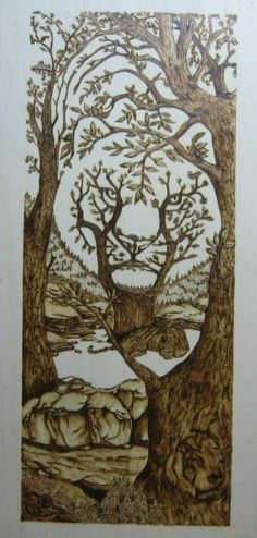 Pyrography,Engraving art Wood Burning Crafts, Wood Burning Patterns, Wood Burning Art, Wood Burn Designs, Wood Carving Designs, Art Pictures, Art Images, David Wood, Flower Art Drawing