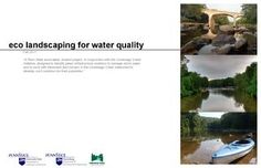 Eco-landscaping for Water Quality (2011)