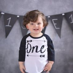 First Birthday Shirt - This ONE shirt is perfect for your little ones birthday or all year round! We at Bump and Beyond Designs love to help