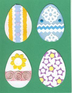 Lg. Easter Egg Embellishments - Set 2