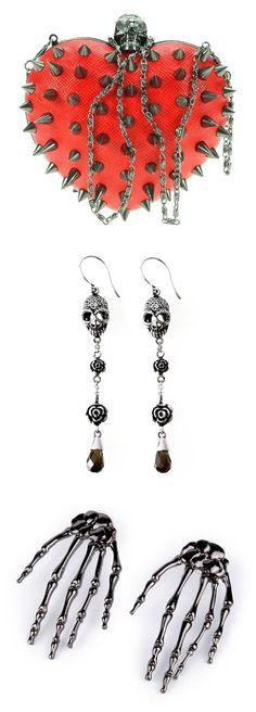 Shop skulls party accessories at RebelsMarket!