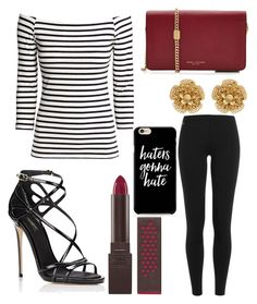 """""""Untitled #9636"""" by ohnadine on Polyvore featuring H&M, Marc Jacobs, Polo Ralph Lauren, Dolce&Gabbana, Burt's Bees and Miriam Haskell"""