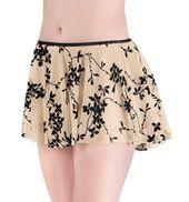 Flocked Pull On Skirt