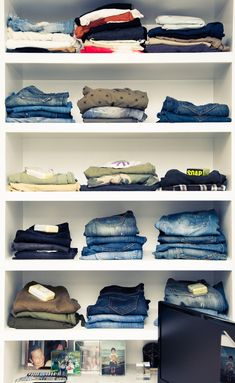 To the woman with potentially the most organized closet in the world, we salut you. http://www.thecoveteur.com/lori-hirshleifer/