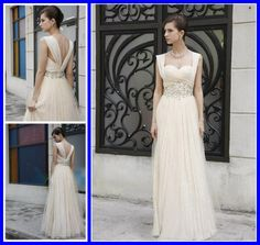 long wedding dress from ebay