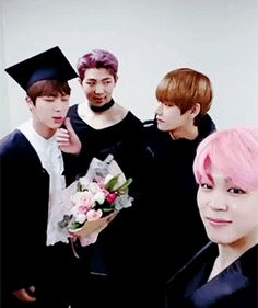 Jin and Taehyung are so sweet