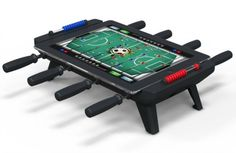 No more waiting for the bar's broken foosball table to be free! | iPad Foosball | $100 | UncommonGoods