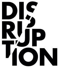 disruptive typography