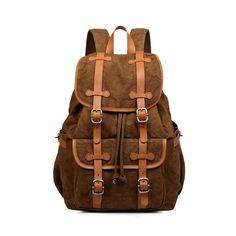 New Men's Canvas Backpack Vintage Shoulder Bag Canvas Bagpack Bookbag Rucksack Schoolbag 15 inch Laptop Travel Satchel Brand Name: FORUFORM Item Type: Backpack 2017, Backpack For Teens, Rucksack Backpack, Hiking Backpack, Laptop Backpack, Messenger Bag, Day Backpacks, Canvas Backpacks, Canvas Weekender Bag