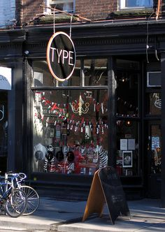 Type Books | Queen St. W., Toronto./a real brick&mortar establishment, i would visit