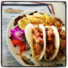 Fresh Grouper Tacos At The Beachhouse Restaurant Best Fish Taco You Will Ever Beach House Restaurantseafood Restaurantbradenton