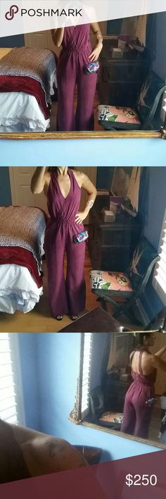 Dont miss it! Exclusive Jumpsuit from brazil From Rio de Janeiro high quality microfiber perfect like a new fits medium size really big quality amazing boutique from Rio Anthropologie Dresses