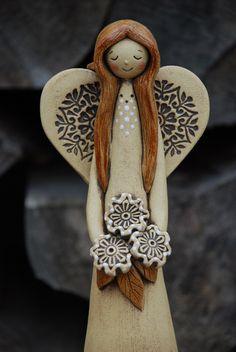 Translucent Porcelain Royalton China Co Ceramic Pottery, Pottery Art, Ceramic Art, Resin Art, Clay Art, Pottery Angels, Clay Angel, Clay Cross, Wood Craft Patterns