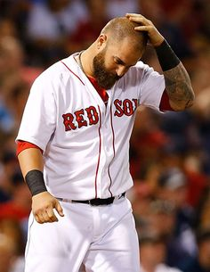Mike Napoli now Red Sox strikeouts king