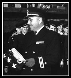 Medal of Honor Monday! Commander Ernest Evans (WWII) -- On this day in 1944, a United States Navy officer makes the ultimate sacrifice in an action that would earn him the Medal of Honor. Commander Ernest Evans had fought gallantly for hours before finally going down with his destroyer, USS Johnston.