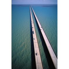 The world's longest bridge outside of Asia is the Lake Pontchartrain Causeway in southern Louisiana, United States. At nearly 24 miles (38km) long, it is the seventh longest bridge in the world