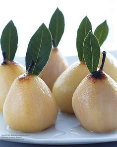 Moscato Poached Pears.....