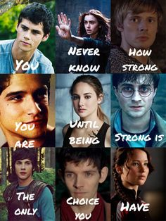 Most popular tags for this image include: harry potter, teen wolf, percy jackson, divergent and the maze runner Narnia, Percy Jackson, Movie Quotes, Book Quotes, Hunger Games, Heros Film, Book Fandoms Unite, Fandom Quotes, Girl Power Quotes