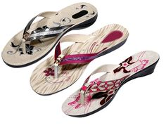 Indistar Women's Nylon Flip Flop (Pack Of 3 Pair) * You can get more details by clicking on the image.