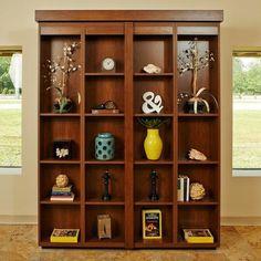 Boaz BiFold Bookcase Murphy Bed