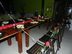 evento social (jantar de noivado)
