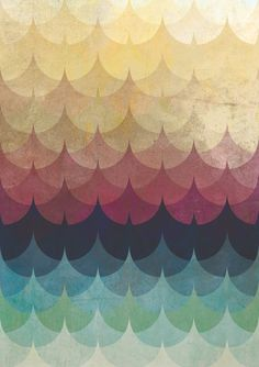 chloe fleury graphic design Christopher Paul Gulczynski: Graphic Design and Illustration waves Pattern Texture, Pattern Art, Pattern Design, Wave Pattern, Feather Pattern, Quilt Pattern, Pretty Patterns, Color Patterns, Color Charts