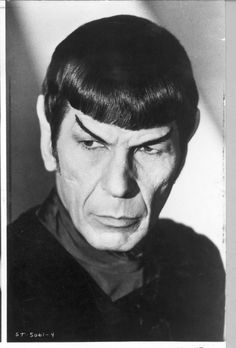 "Leonard Nimoy as Mr. Spock in ""Star Trek: The Motion Picture""; WABC mistakenly tweeted him as a star of ""Star Wars."""