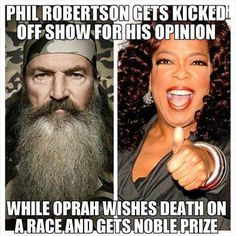 """Oprah is quoted as saying """" There are still generations of people, older people, who were born & bred . in it - in that prejudice & racism- & they just have to die"""" - Oprah"""