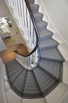 Gorgeous #stairrunner installation shot of design Runswick 18 in a #london…