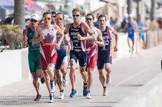 The fastest triathletes in the world competed in San Diego.