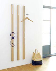 LINE - Appendiabiti a muro by Schönbuch Diy Furniture, Furniture Design, Wall Design, House Design, Coat Hanger, Home And Deco, Diy Home Crafts, Home Improvement, Interior Decorating