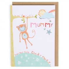From your cheeky monkey Mother's day card