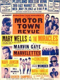 Motown Revue - Remember the 60s - 70s at Park Center  (Grady Cole Center)