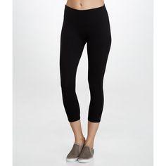 SPANX Ready-to-Wow Medium Control Capri Leggings ($92) ❤ liked on Polyvore featuring pants, leggings, hosiery, opaque, women, spanx, white leggings, capri leggings, white capri leggings and white trousers