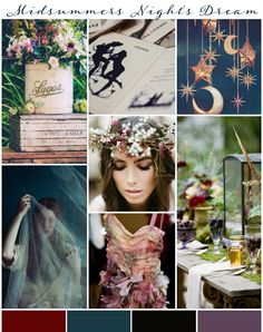 A Midsummers Night's Dream Wedding Inspiration & Ideas nights dream wedding 101 Wedding Colour Ideas for your Wedding! Wedding Themes, Wedding Cards, Wedding Colors, Wedding Locations, Wedding Decor, Wedding Venues, Forest Wedding, Woodland Wedding, Wedding Night