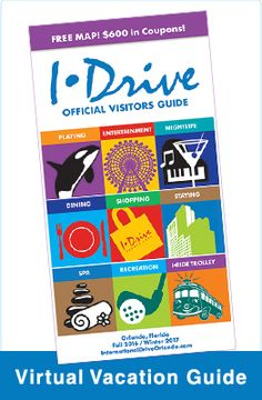 International Drive or IDrive has a great way to get aroundthe I