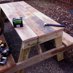 Barnwood Picnic Table Love The Simplicity Of Coloring And Story