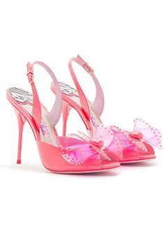 Sophia Webster Barbie Collection. When dreaming about having Barbie's shoes came true.