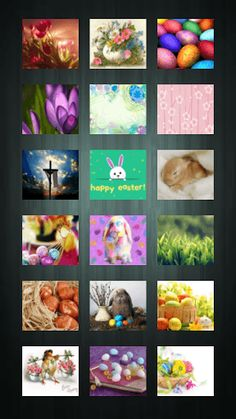 This app is a collection of 90 beautiful, colorful wallpapers suitable for Easter decoration of your mobile phone. Here you can find classic Easter images which show the essence of this family holiday with practical and spiritual insight for better user experience.<p>Easter is a period of Holy Week from Palm Sunday, Holy Thursday, Good Friday and Easter (Resurrection) Sunday. At Easter time Christians remember the last week of Jesus Christ life.In Christian tradition this period is time for…