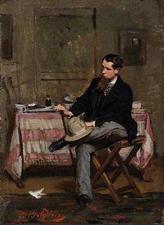Giovanni Boldini The Painter Vincenzo Cabianca 1909