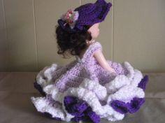 Lady Lavender Air Freshener Doll by PeggysPatch on Etsy, $12.00