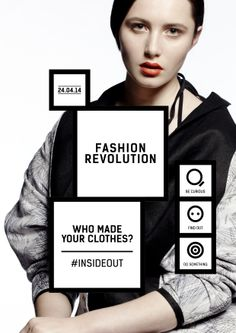 Fableists: Show your Support for Positive Fashion – Fashion Revolution Day – Slow Fashion, Fashion Fashion, Fashion Black, Fashion Ideas, Vintage Fashion, Fashion Trends, 30 Outfits, Campaign Fashion, Fashion Marketing