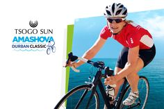 The Tsogo Sun Amashova Durban Classic is one of South Africa's most popular cycling events and we were briefed to develop an integrated campaign with a new, refreshed look for the 2016 race. Cycling Events, Social Campaign, South Africa, How To Memorize Things, Racing, Baseball Cards, Classic, Sports, Sun