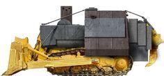 "Marvin Heemeyer's armored bulldozer - ""Killdozer"""