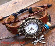Restore ancient ways jewelry bracelet watch by Vintagewatchesmall, $12.59