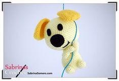 Амигуруми щенок Пип, связанный крючком, может поселиться у вас в доме вместе со своим воздушным шариком. Свяжите эту очаровательную собачку по схеме и описанию Сабрины Сомерс.
