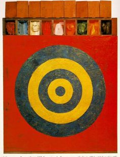 Jasper Johns.   Target  Pinned from PinTo for iPad 