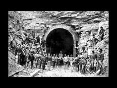 """Ken Donleavy uses this pic in discussion of Irish immigrants who came west building railroads in then western Virginia. It came up when researching """"Kingsville Tunnel. Vincent's cemetery in Kingsville is where early Irish ancestors are buried. Ohio Historical Society, Appalachian People, New River Gorge, Park Service, Local History, West Virginia, Mount Rushmore, National Parks"""