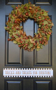 The Smith and Hawkins section at Target is always a favorite stopping point....well for me, not necessarily my kids! I found this wreath there two or three years ago, and fell in love!